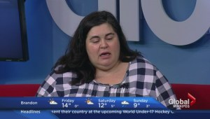 Canadian comedian Debra DiGiovanni stops by Global News Morning